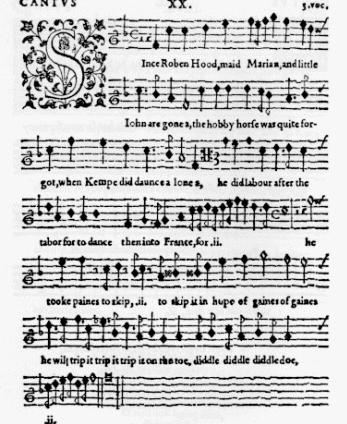 Robin In Music And Literature Robin Hood The Facts And The Fiction
