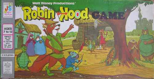 Robin Hood The Facts And The Fiction Board Games